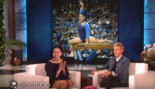 Sophina DeJesus and Ellen DeGeneresYouTube Screenshot