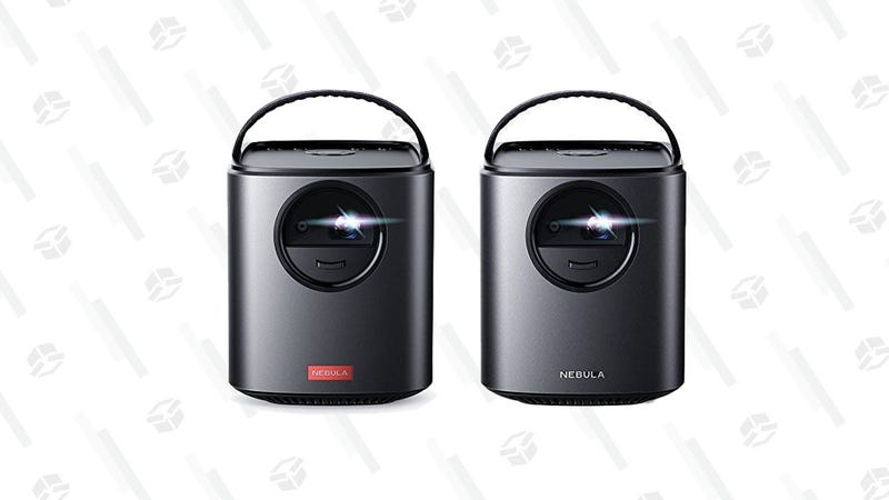 Nebula Mars Portable Projector with Android |$330 | AmazonNebula Mars Lite Portable Projector | $221 | Amazon