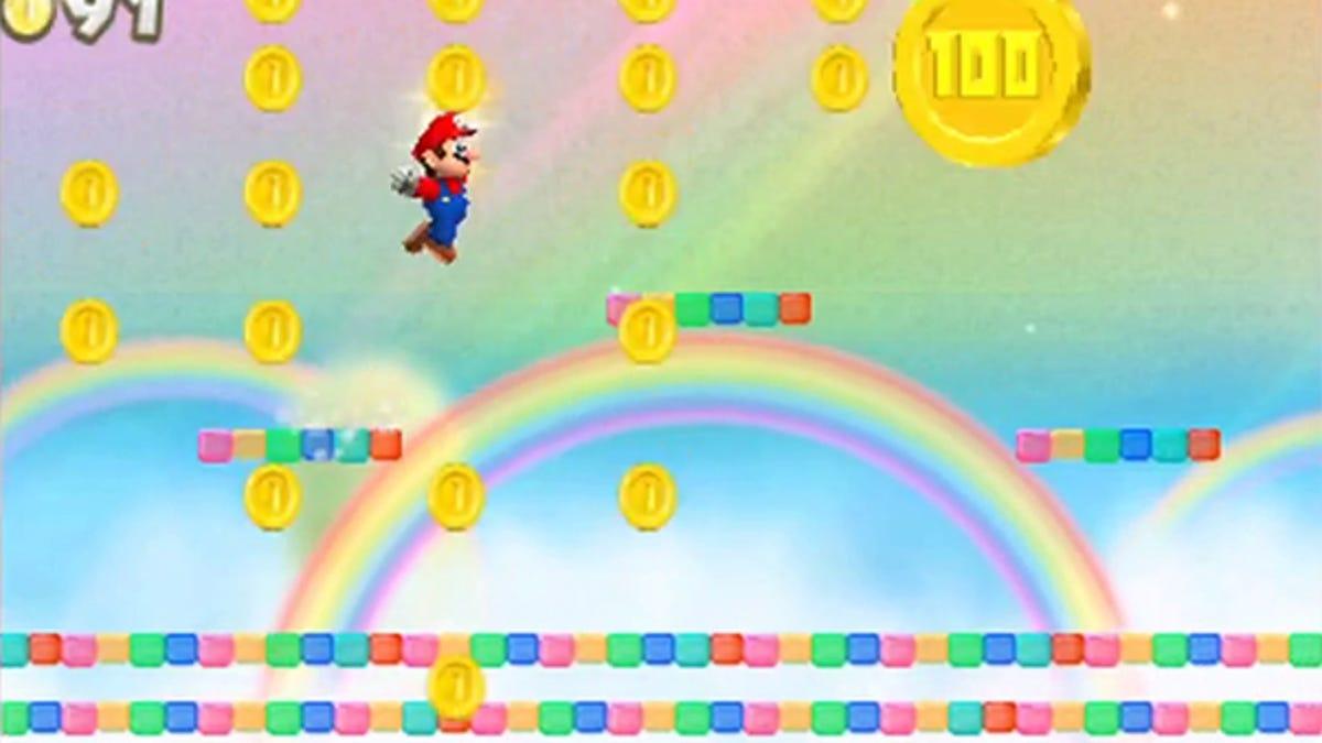 New Super Mario Bros 2 Flower World Level 2 - Flowers Healthy