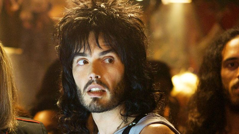 Illustration for article titled Russell Brand may quit acting, but will be in a new documentary