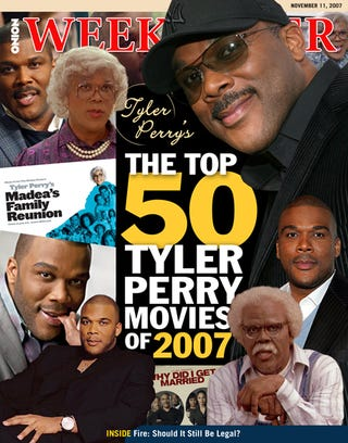 Illustration for article titled The Top 50 Tyler Perry Movies of 2007