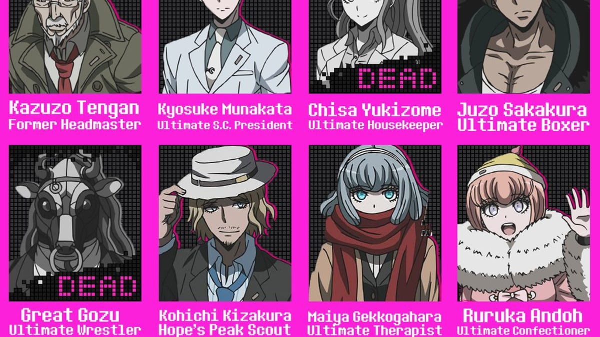 Danganronpa 3: The End of Hope's Peak Academy - Anime Series