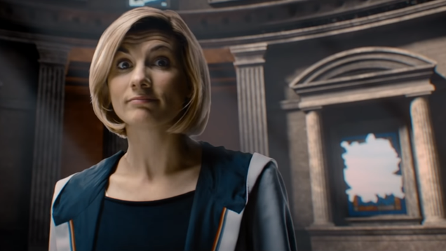 Doctor Who Gets Cheeky With Jodie Whittaker s New Teaser