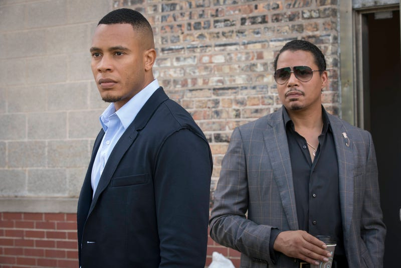 "Andre (Trai Byers) and Lucious (Terrence Howard)  in a scene from the ""Cupid Kills"" episode of EmpireChuck Hodes/Fox"