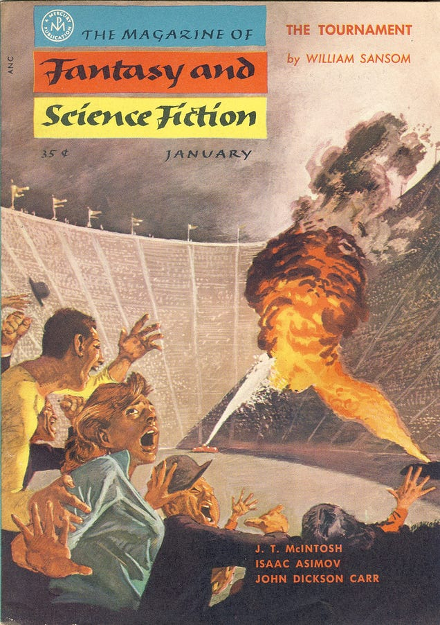 Writing a science fiction story