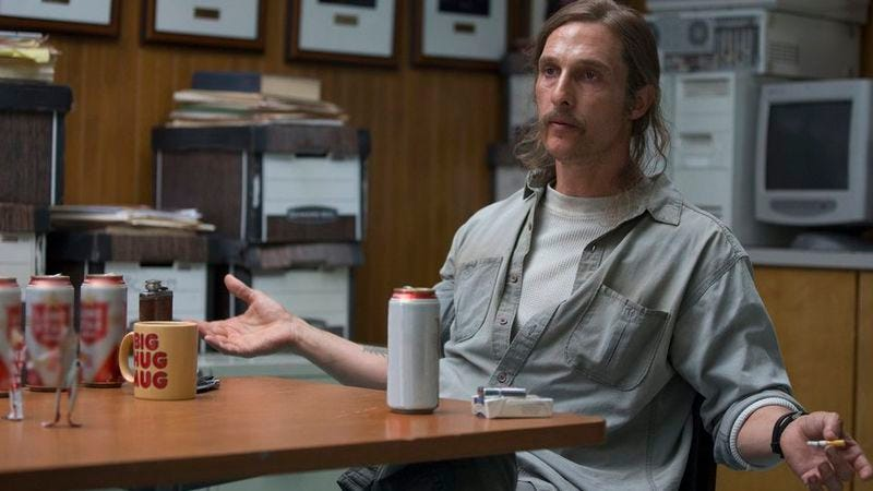 Illustration for article titled Matthew McConaughey is still down for True Detective season 3