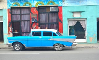 Illustration for article titled ABC World News is reporting on 50's Cuban Cars
