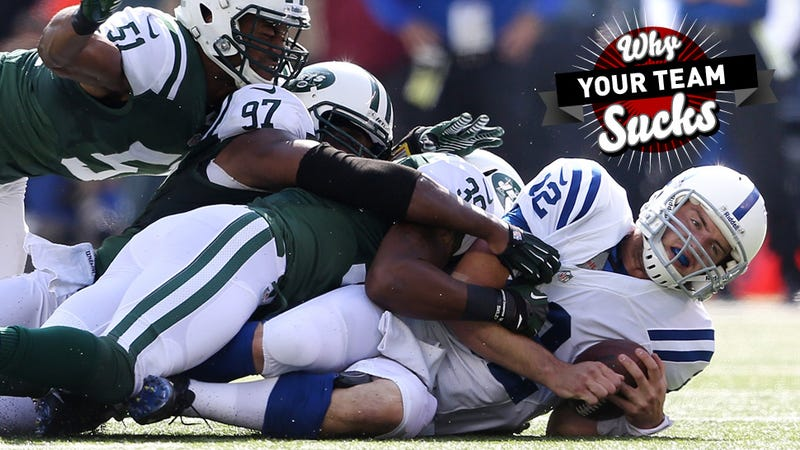 Illustration for article titled Why Your Team Sucks 2013: Indianapolis Colts