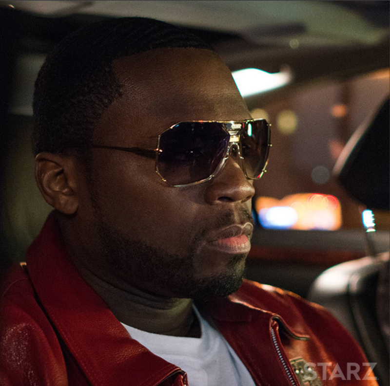 "Kanan from Starz's Power (played by Curtis ""50 Cent"" Jackson)Starz Network"