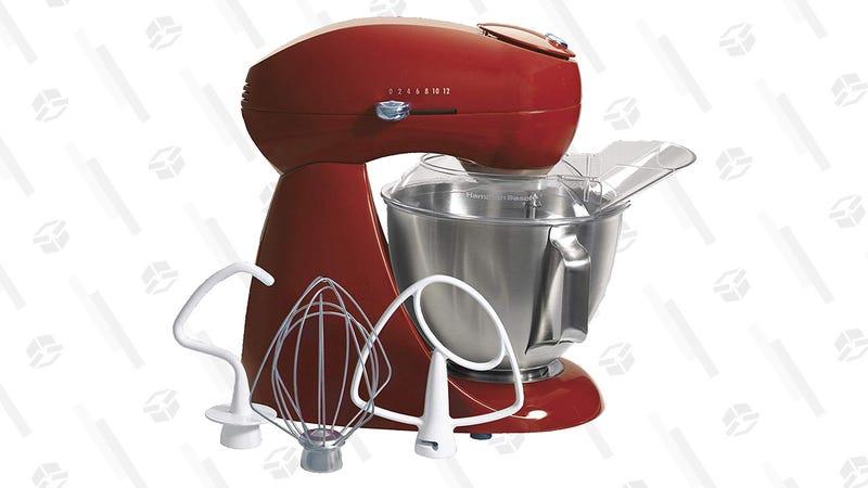 Hamilton Beach Stand Mixer (Red, Black or White) | $140 | Amazon