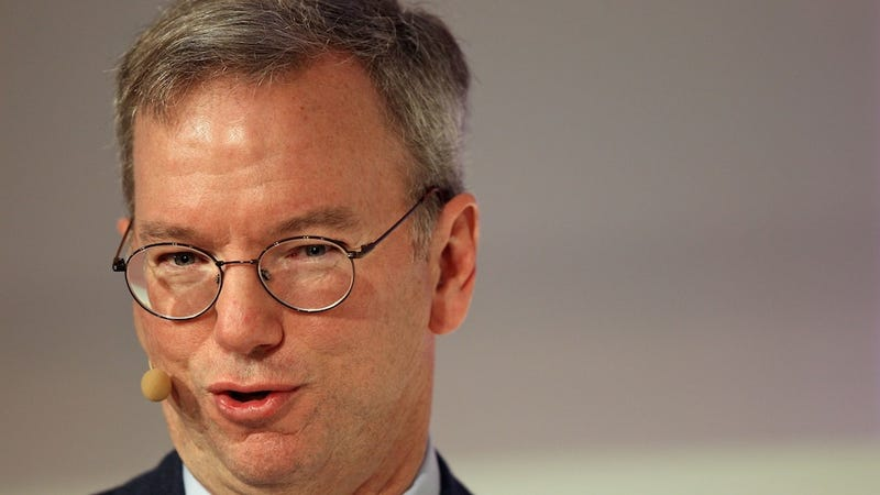 Illustration for article titled Google's Eric Schmidt: Samsung and Apple Sue Because They Can't Be Us