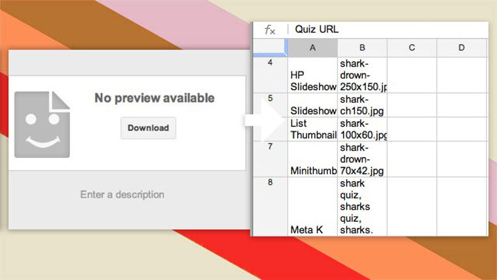 Open CSV Documents in Google Docs
