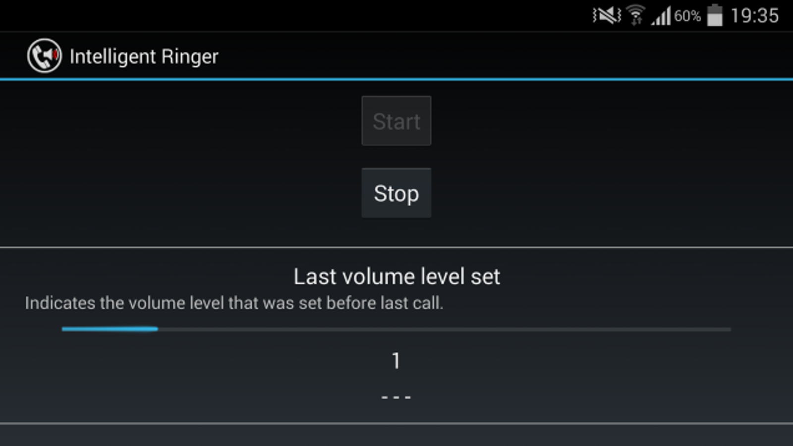 android phone ringer volume