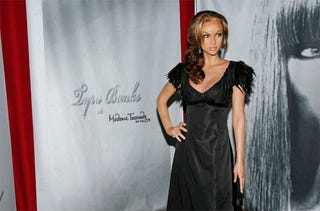 Illustration for article titled Tyra Banks Is A Vision In Wax