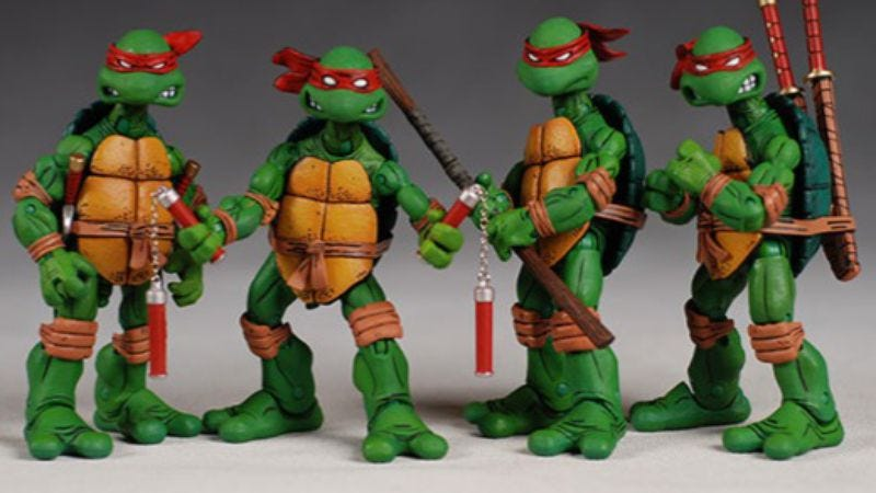 Illustration for article titled More Ninja Turtles crap on the way