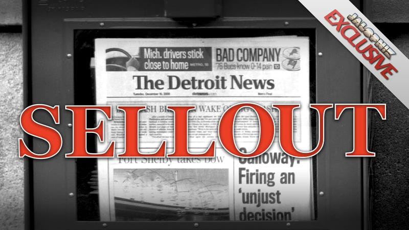 Illustration for article titled How The Detroit News Sold Its Soul