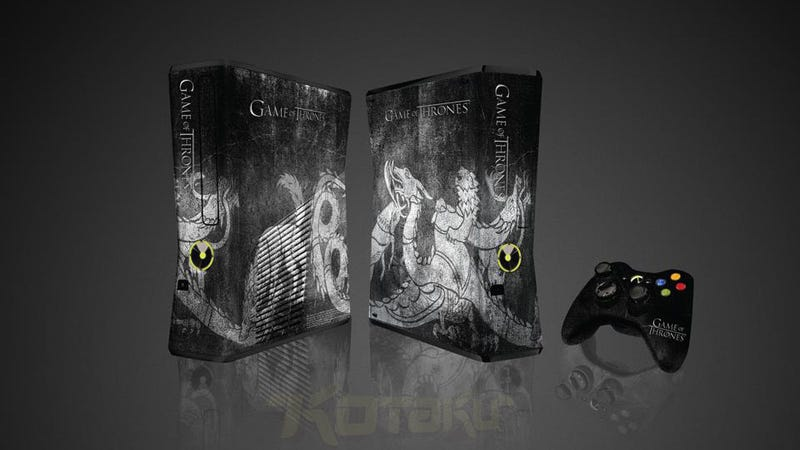 Illustration for article titled Oh Man, I Need This Awesome Game of Thrones Xbox 360 Console