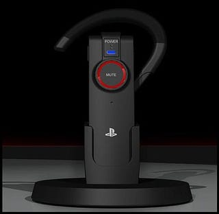 Illustration for article titled PlayStation-Branded PS3 Bluetooth Headset Comes Free With SOCOM