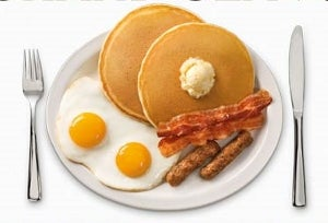 Illustration for article titled Denny's Giving Away Free Grand Slam Breakfast Today