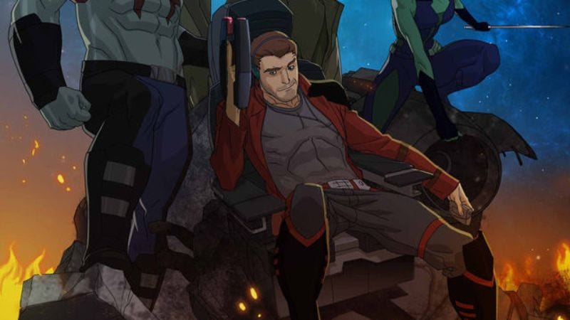 Boy Meets World's Will Friedle to voice Star-Lord in animated Guardians series
