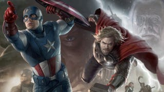 Illustration for article titled We've seen the first footage from The Avengers!