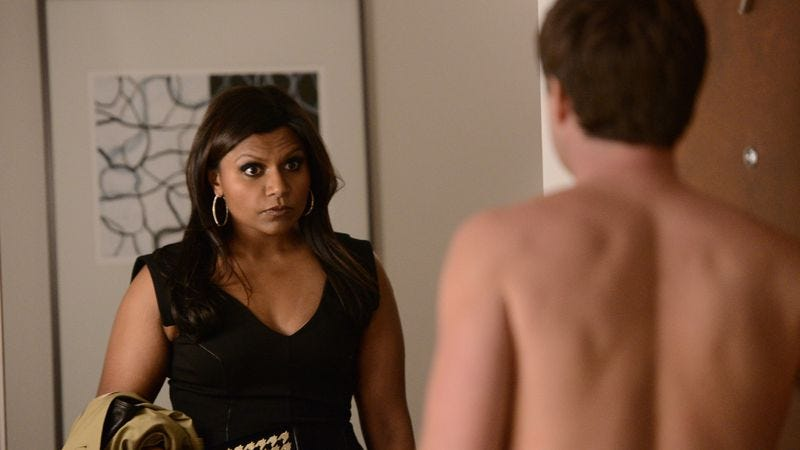 """Illustration for article titled The Mindy Project: """"Hooking Up Is Hard"""""""
