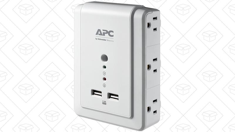 Multicontacto APC con seis enchufes   $13   Amazon   Usa el cupón de $5