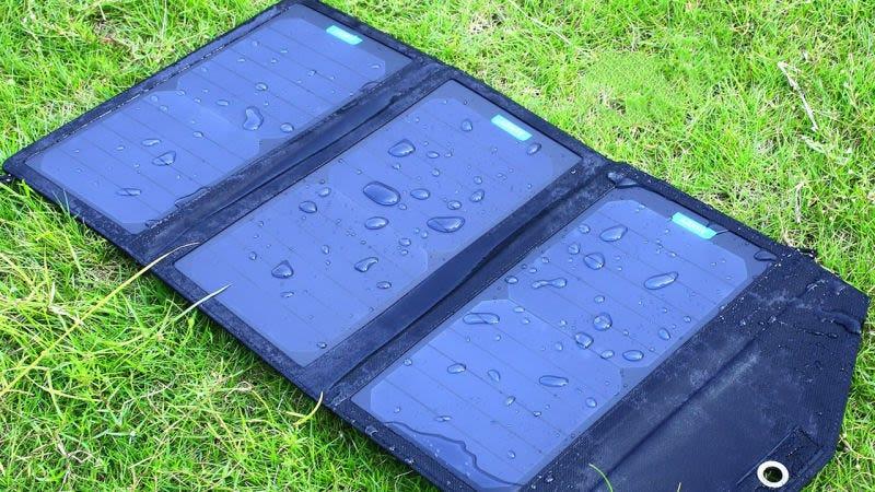 Cargador solar Aukey 14W, $32 con el código AUKEYPBBCargador solar Aukey 20W, $42 con el código AUKEYPBA
