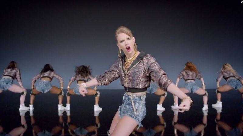 Illustration for article titled Taylor Swift has a new video, is going full-on pop star now