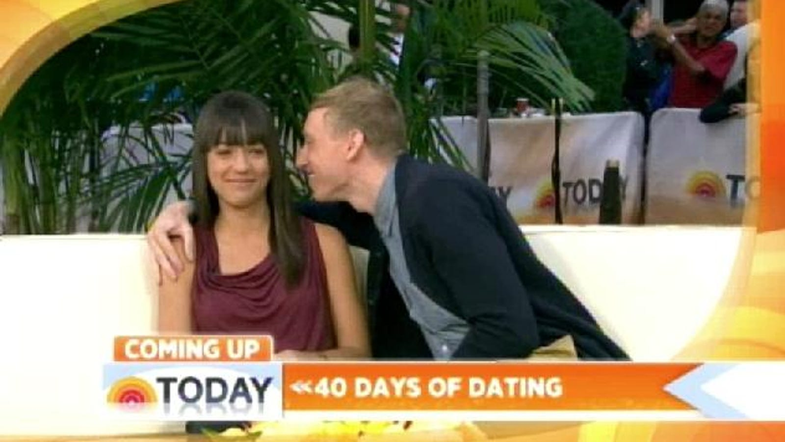 Forty days of dating what happened next video