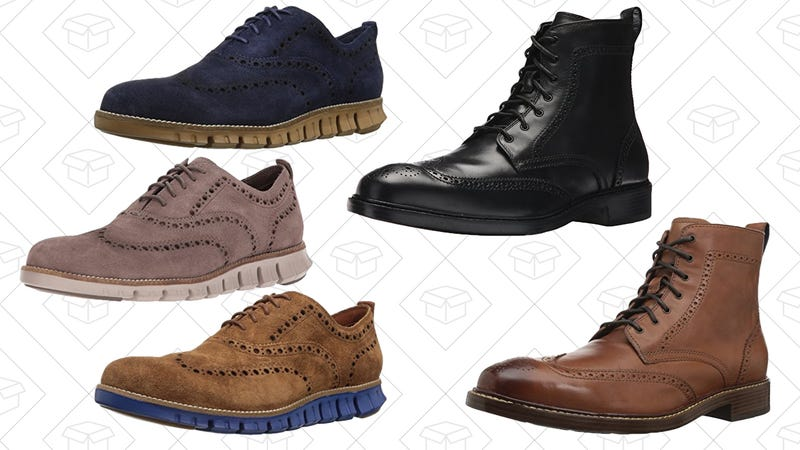 ZERØGRAND Oxford, $100Kennedy Wingtip Boots, $100