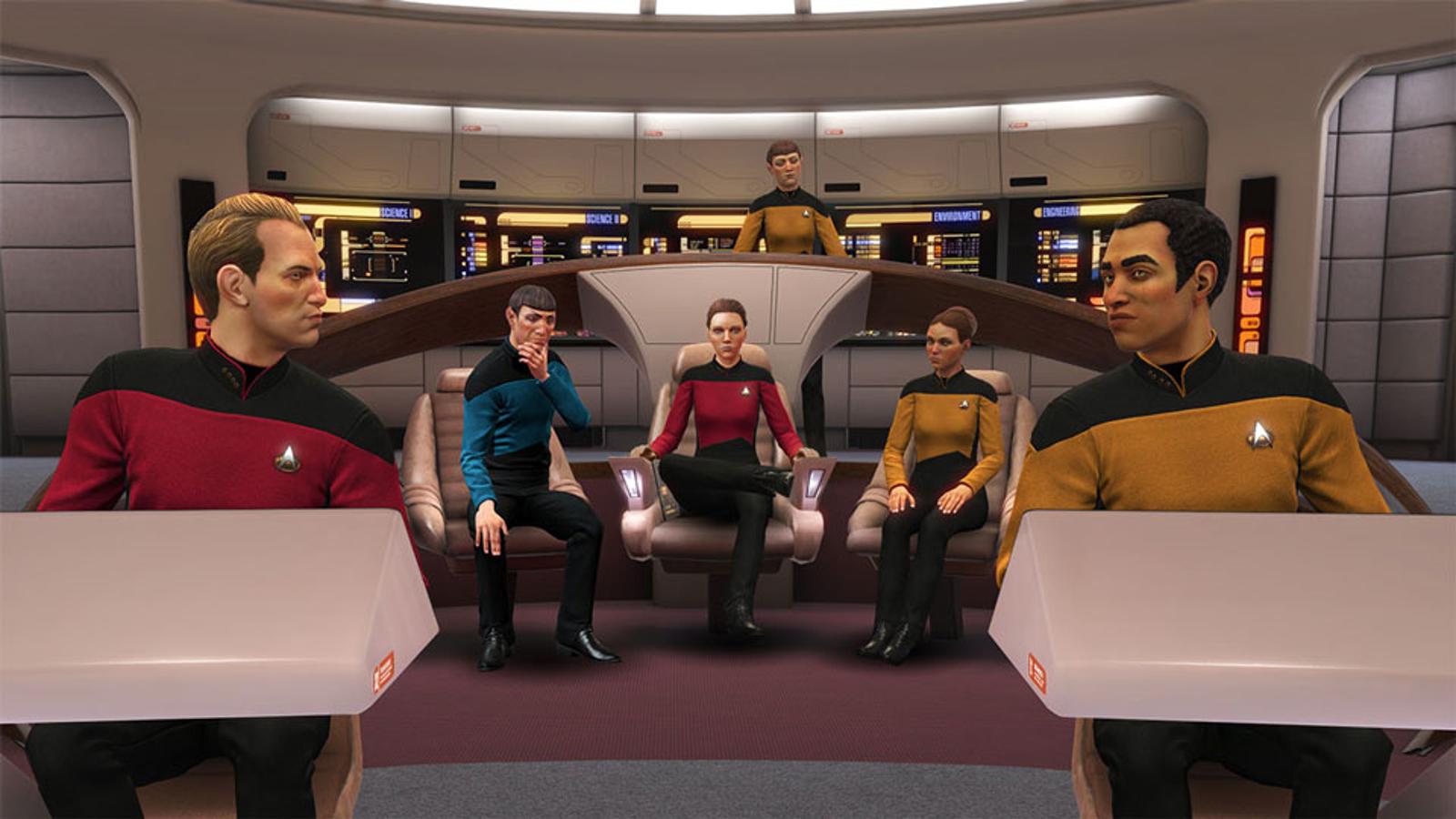 We Just Got A Good Star Trek: The Next Generation Video Game