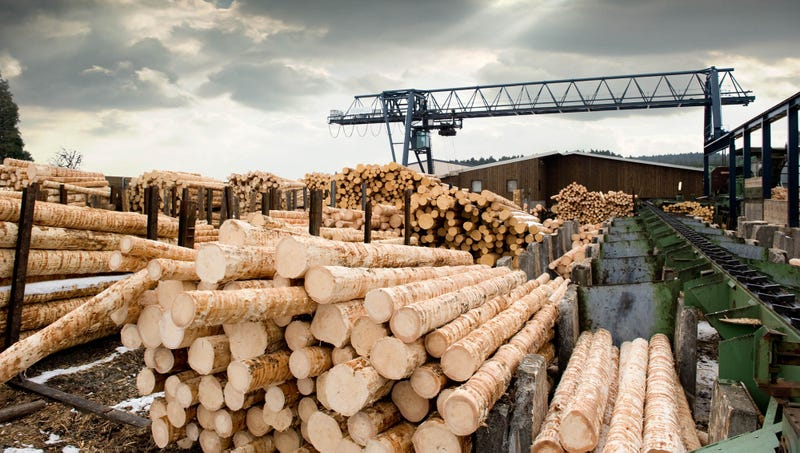 Illustration for article titled Logging Industry Announces That They Just Can't Fucking Get Enough Of Logs