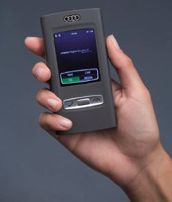 Illustration for article titled Audi's Concept Cell Phone Starts the Car, Adjusts Climate Control, and has 3G