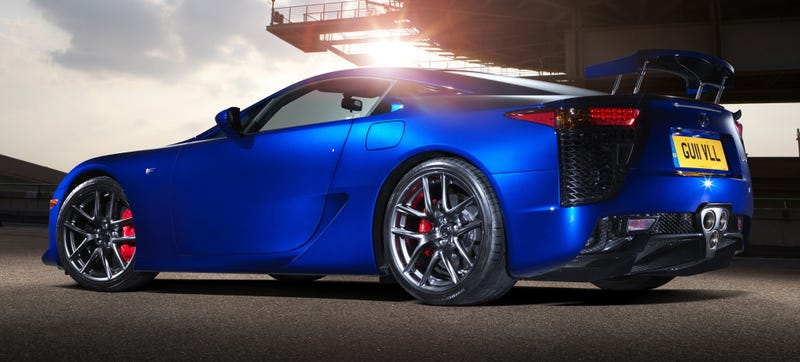 Illustration for article titled Was The Lexus LFA The Greatest Car Of The 2000s?