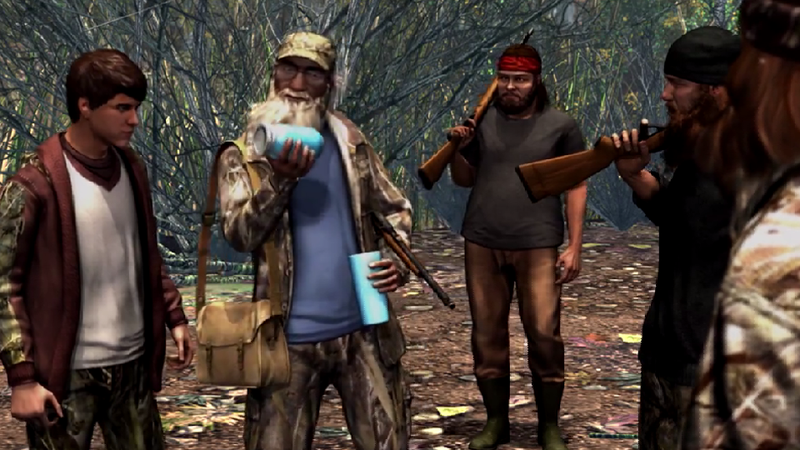 Illustration for article titled There's Gonna Be A Duck Dynasty Console Game For Some Reason