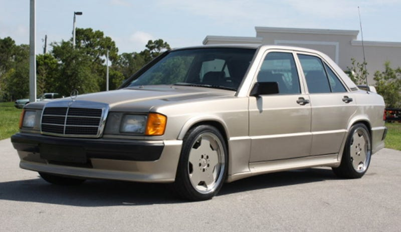 1986 mercedes benz 190e 2 3 16 valve tuned by cosworth for Mercedes benz 190e cosworth