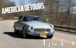Illustration for article titled American Detours: Ep. 5 – A 1965 MGB & W. Virginia