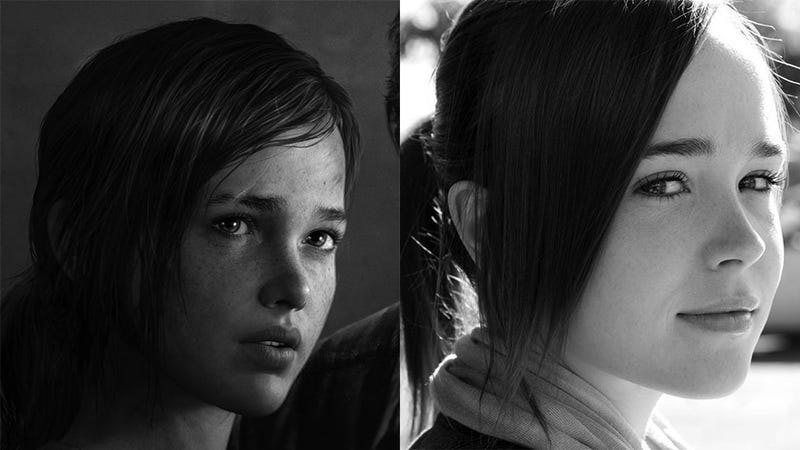 Ellen Page Says The Last Of Us Ellie Ripped Off My Likeness - 23 actors get character incredible