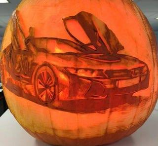 Illustration for article titled Best BMW Pumpkins for Halloween