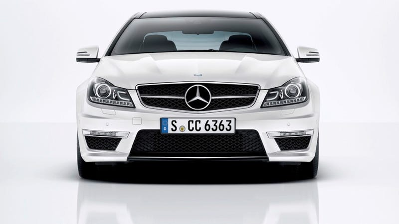 Illustration for article titled 2012 Mercedes-Benz C63 AMG Coupe proves two doors are more sexy than four