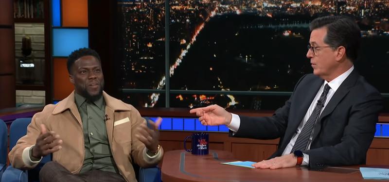 Kevin Hart, Stephen Colbert