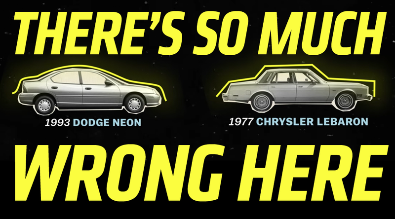 Illustration for article titled This Vox Video About The Evolution Of Cars Is A Complete Mess