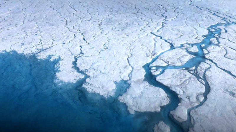 Illustration for article titled Half of Greenland's Surface Started Melting This Week, Which Is Not Normal