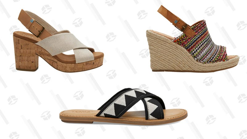 30% Off Select Sandals and Wedges   TOMS   Promo code SAVE30