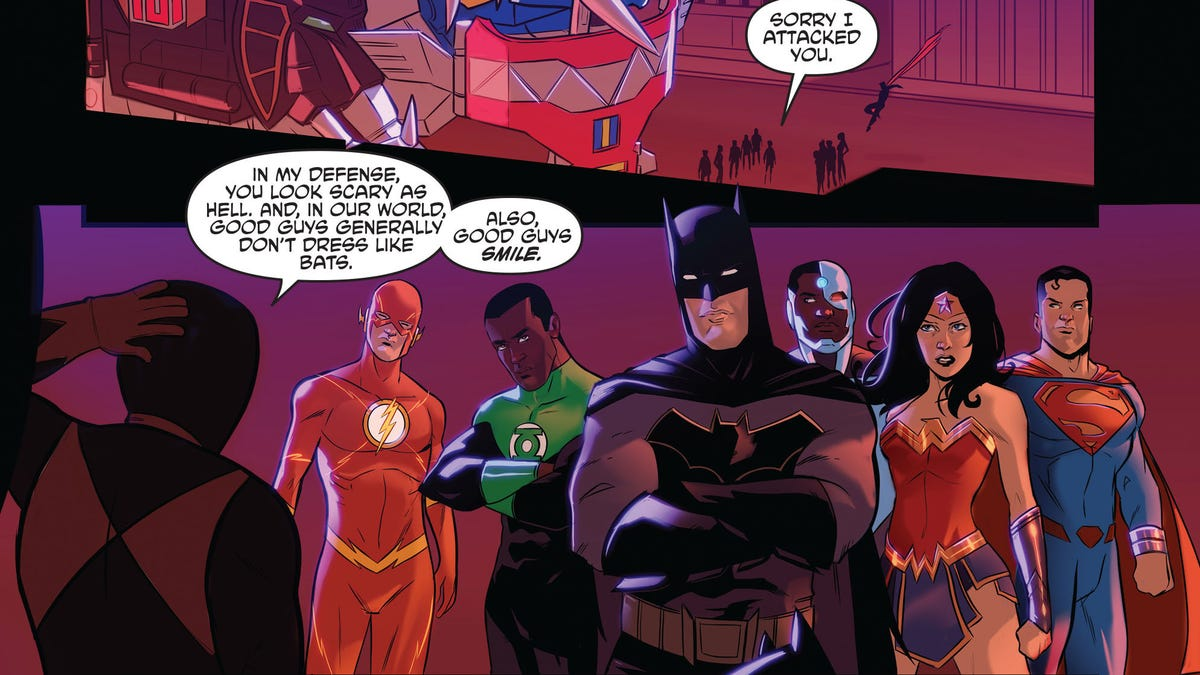 The justice league and power rangers bring out the best in each other m4hsunfo