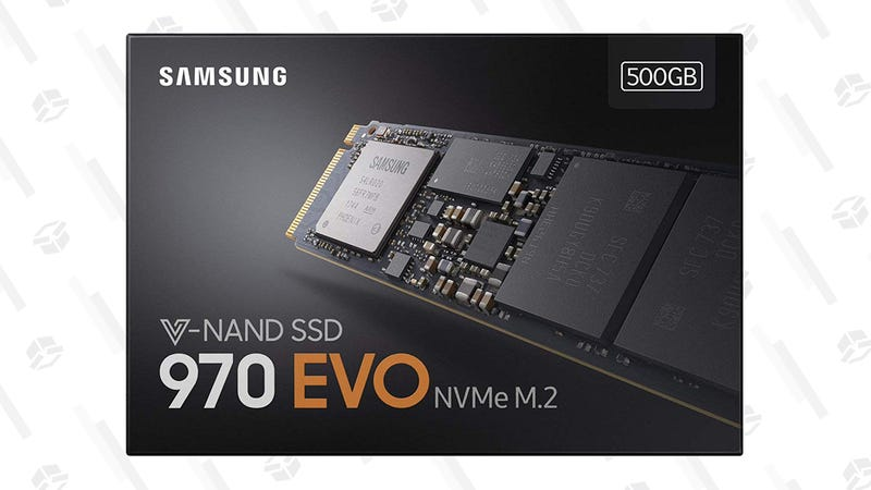 Samsung 970 EVO 500GB SSD | $100 | Amazon