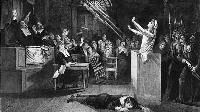 Salem witch trials 17th century essay