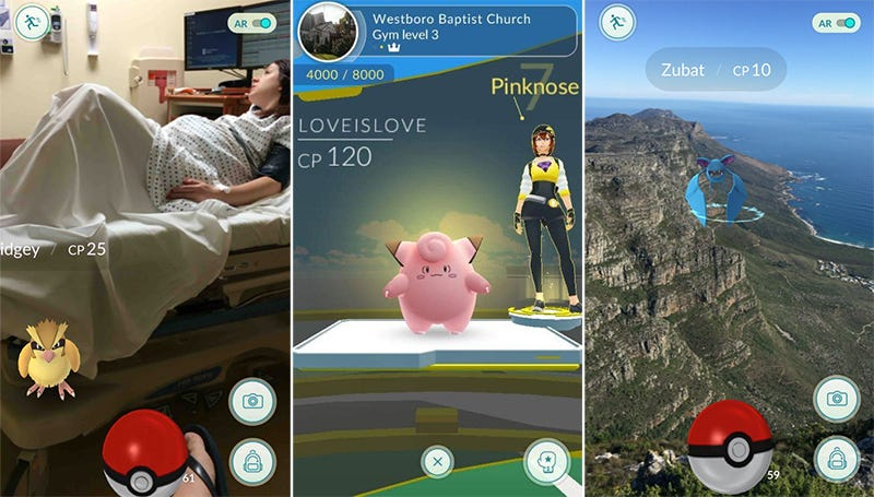 Illustration for article titled Pokémon Go: los lugares más extraños y divertidos donde han aparecido