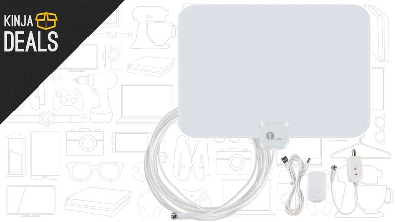 Illustration for article titled Pull In More Channels With This Cheap, Amplified HDTV Antenna